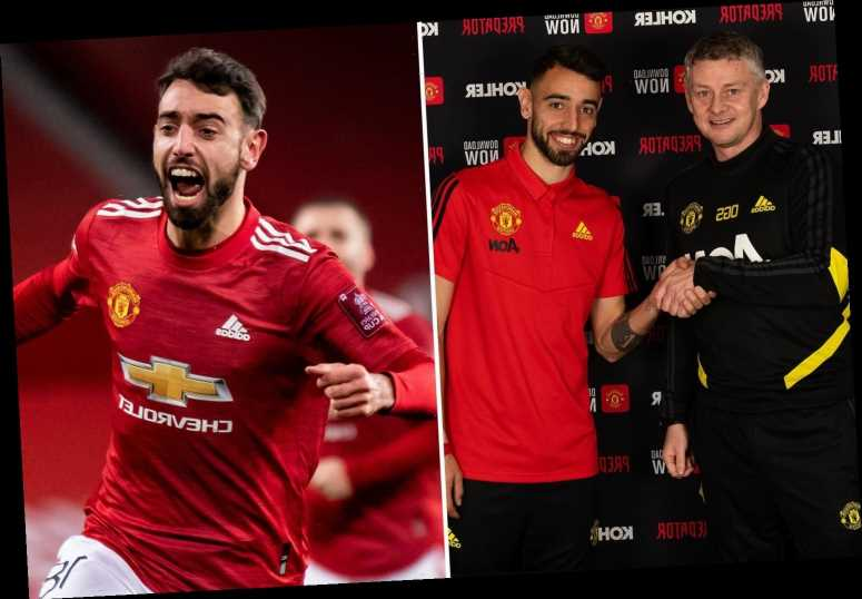 Bruno Fernandes wants 'many years' at Man Utd as he shares amazing highlights reel of his first 12 months at club