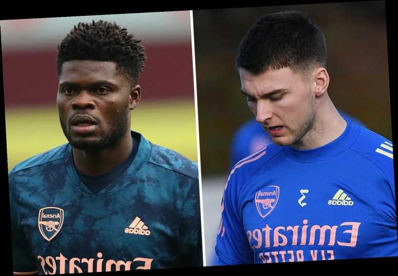 Arsenal stars Kieran Tierney and Thomas Partey ruled out of Leeds clash in huge injury blow for Arteta