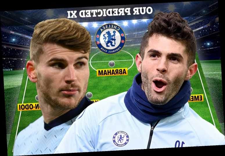 How Chelsea could line-up at Barnsley in FA Cup with Thiago Silva OUT and doubts over Werner, Pulisic and Havertz
