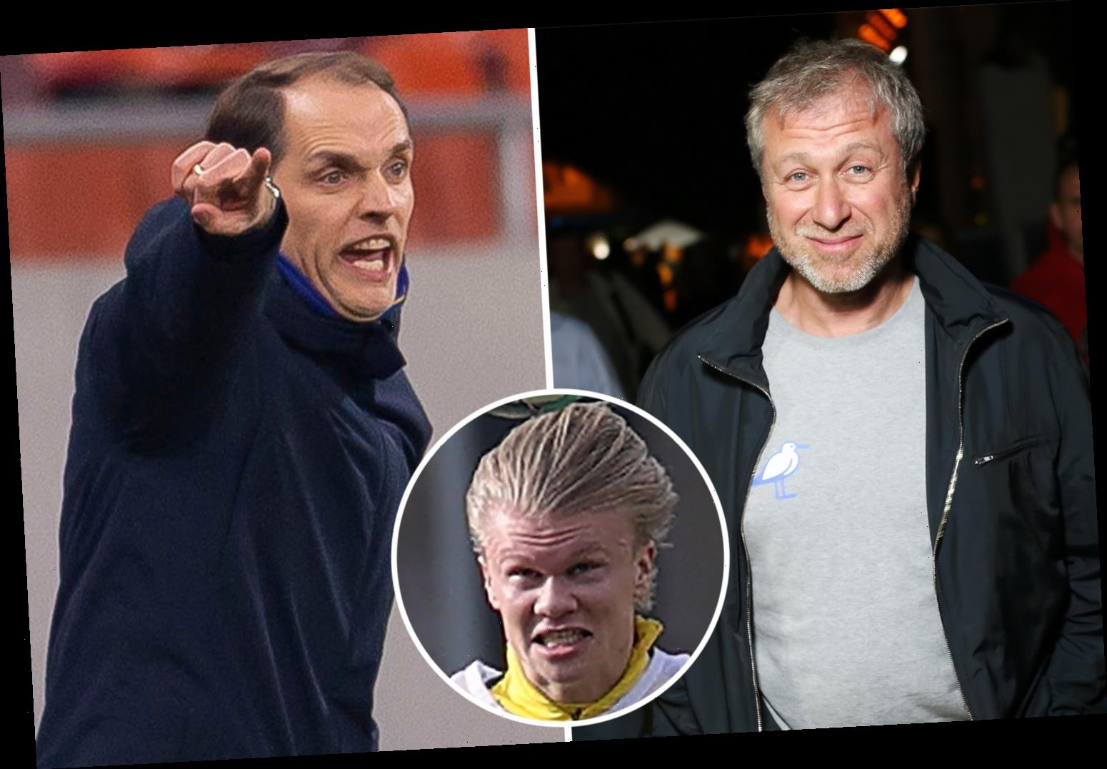 Chelsea boss Thomas Tuchel 'set to be handed £260m transfer summer warchest by Roman Abramovich to land Haaland and Co'