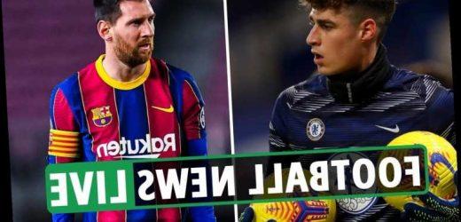 Messi to Man City latest, Southampton vs Chelsea build-up – Man Utd, Arsenal, Tottenham, Liverpool transfer news