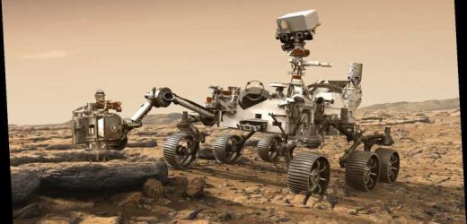 What time is Mars rover landing today?