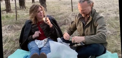 Sister Wives' Meri Brown shows off new fake eyelashes after husband Kody refuses to kiss her