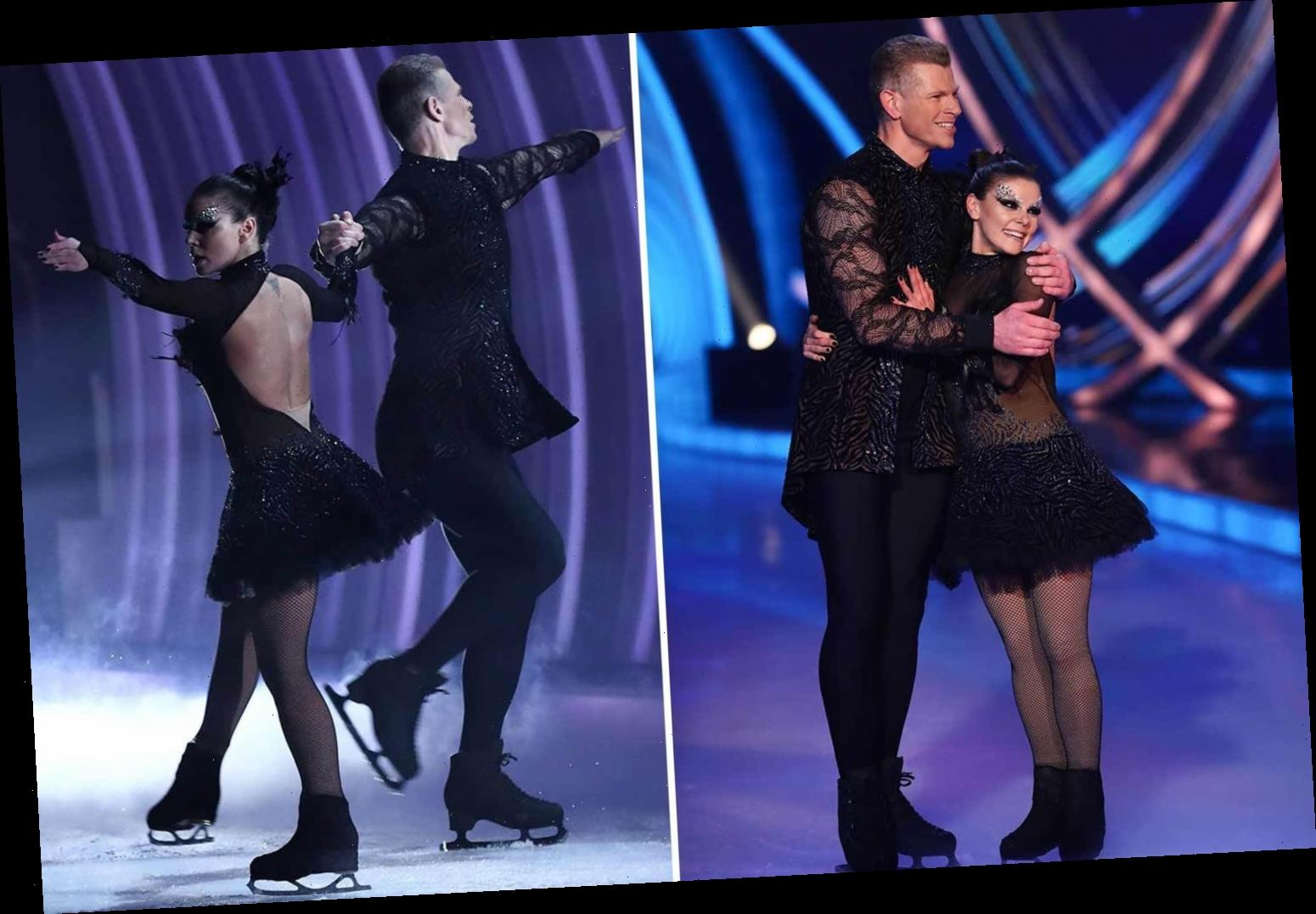Furious Dancing On Ice fans claim Faye Brookes was 'undermarked' as they slam 'unfair' judges amid favouritism row