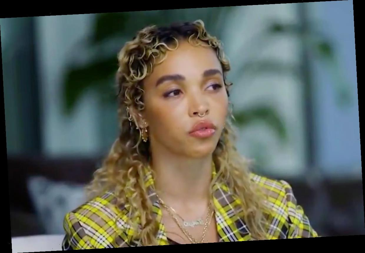 What did FKA Twigs say about Shia LaBeouf 'shooting stray dogs'?