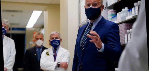 Biden tells Americans to wear masks for COVID-19 until at least 2022