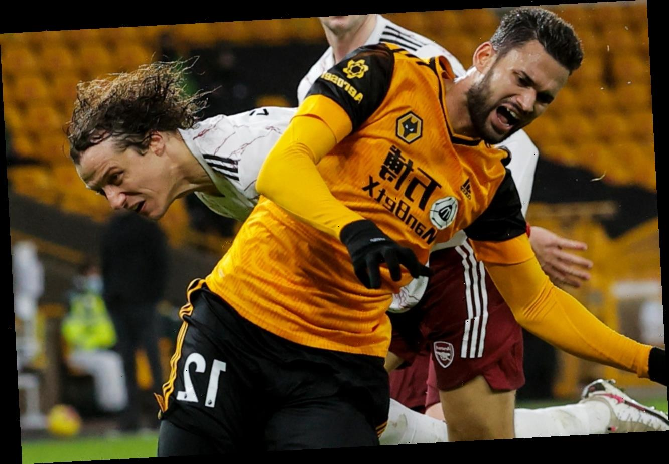 REVEALED: David Luiz tackle at Wolves WAS a red card under new rule despite Arsenal plotting appeal