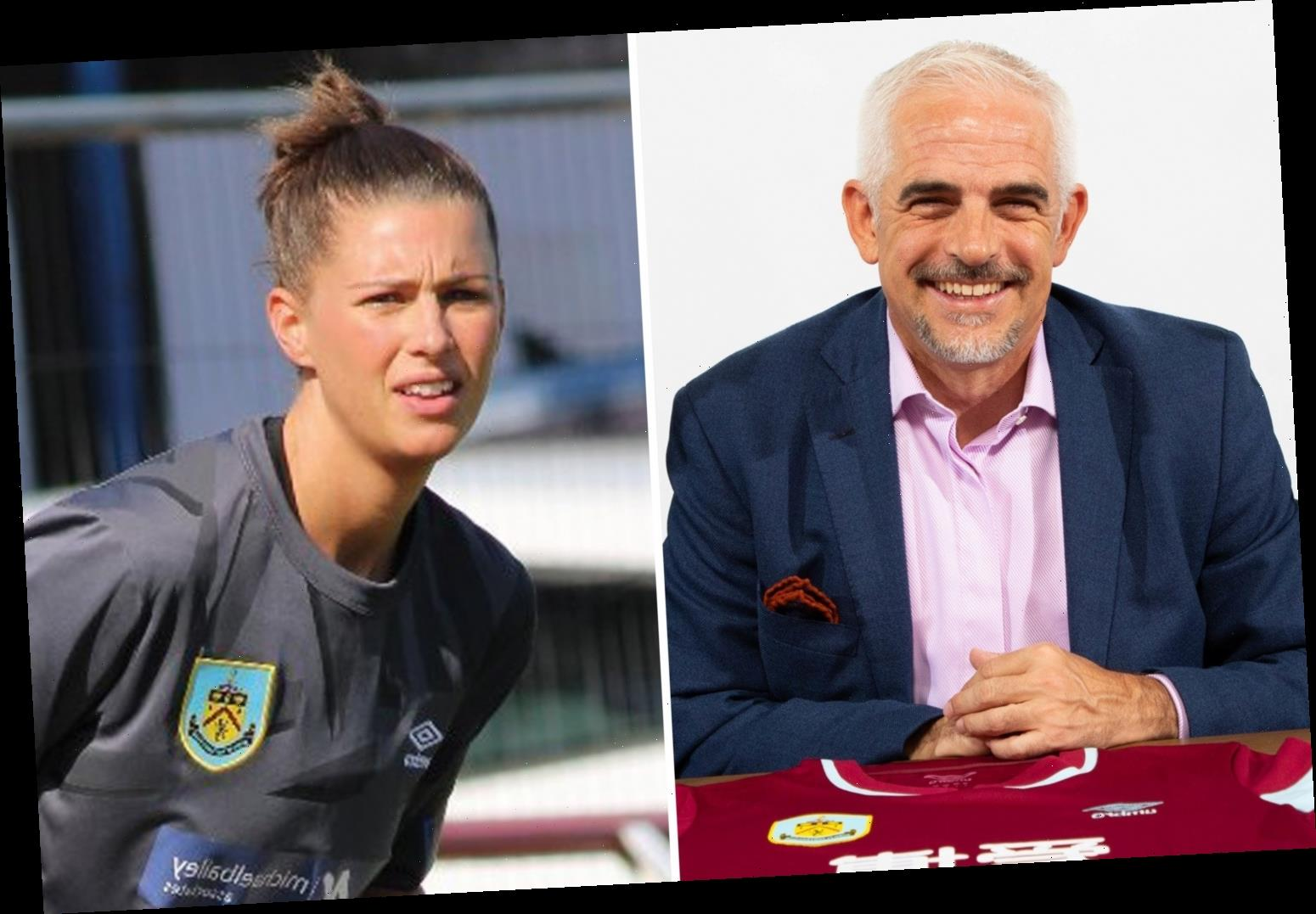 Burnley keeper hails Clarets' plans to make women's team professional