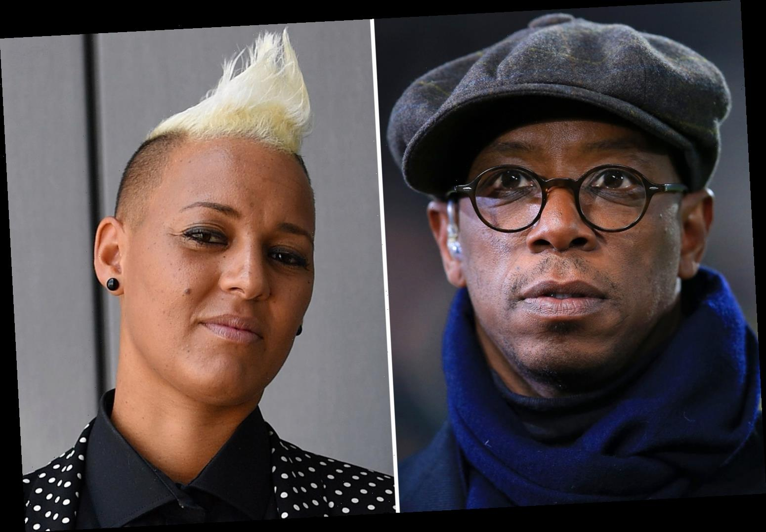 Ian Wright criticises slating of female football pundits and admits to loving atmosphere at women's games
