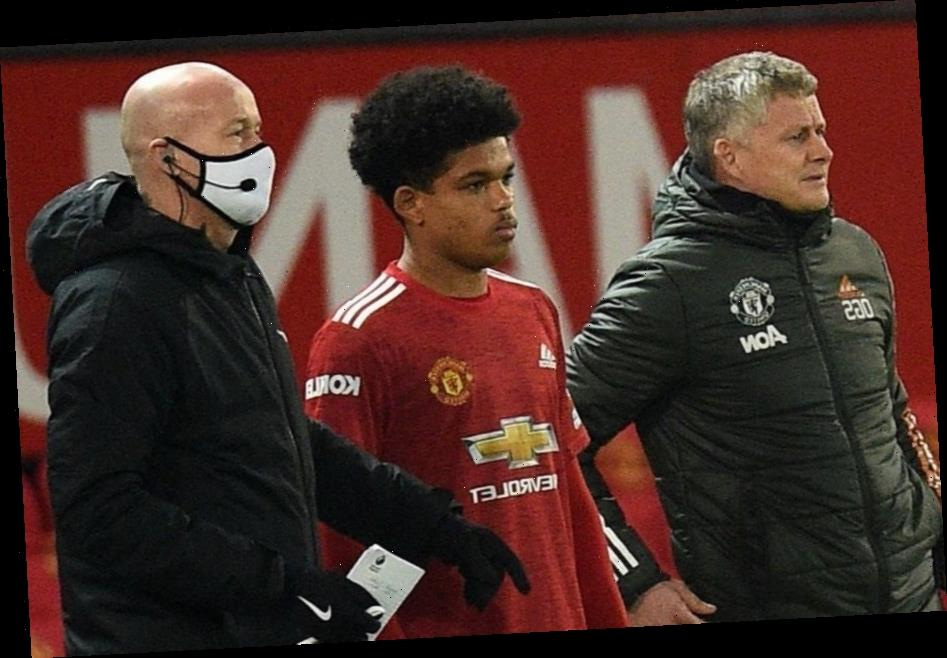 Shola Shoretire given Man Utd chaperone to walk 17-year-old to his car after Premier League debut vs Newcastle