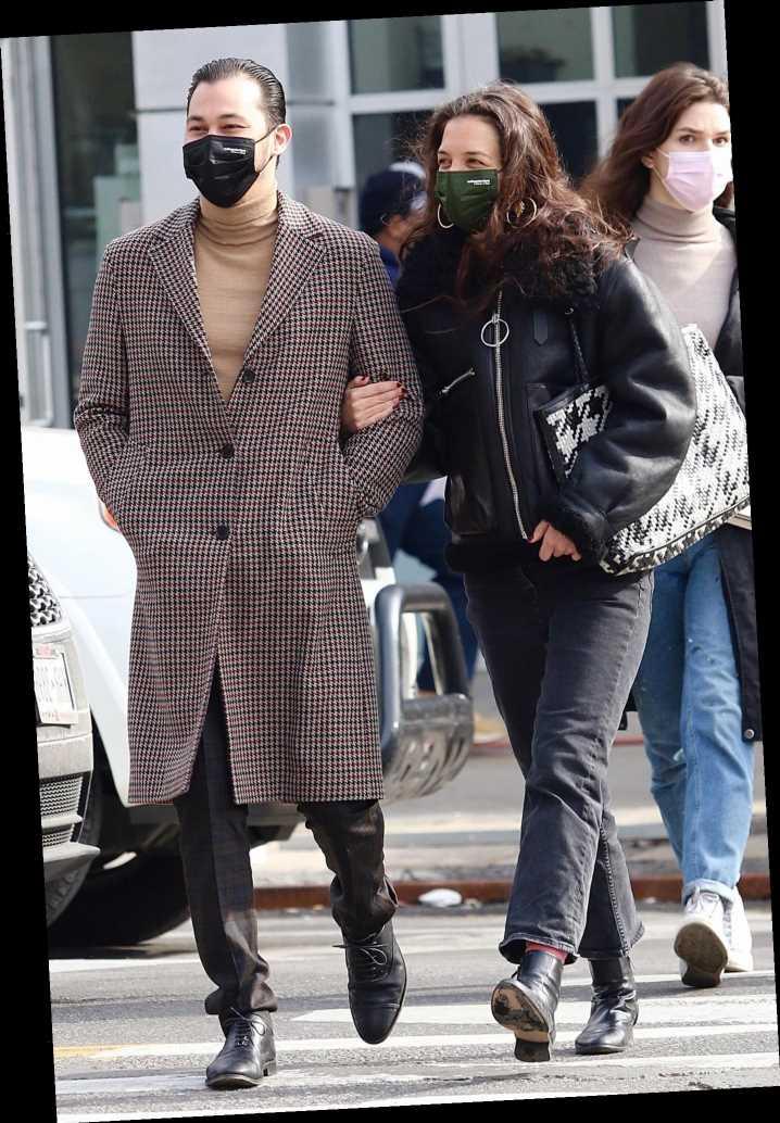 Katie Holmes and Boyfriend Emilio Vitolo Jr. Lock Arms in N.Y.C., Plus Saweetie, Paris Hilton and More