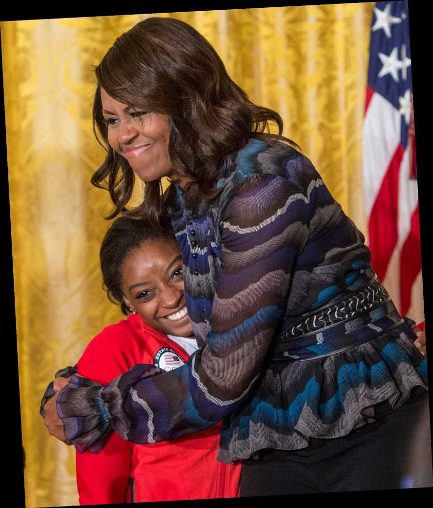 Simone Biles Opens Up About the Michelle Obama Advice That Will 'Always Stick with Me'