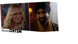Shock passion for Sharon and Kheerat in EastEnders?