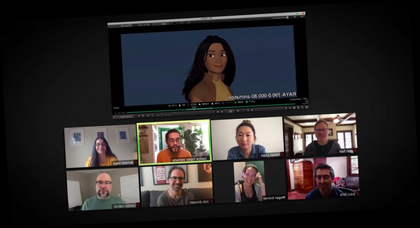 'Raya and the Last Dragon' Featurette: How the Cast and Crew Made The Disney Animated Film in Lockdown