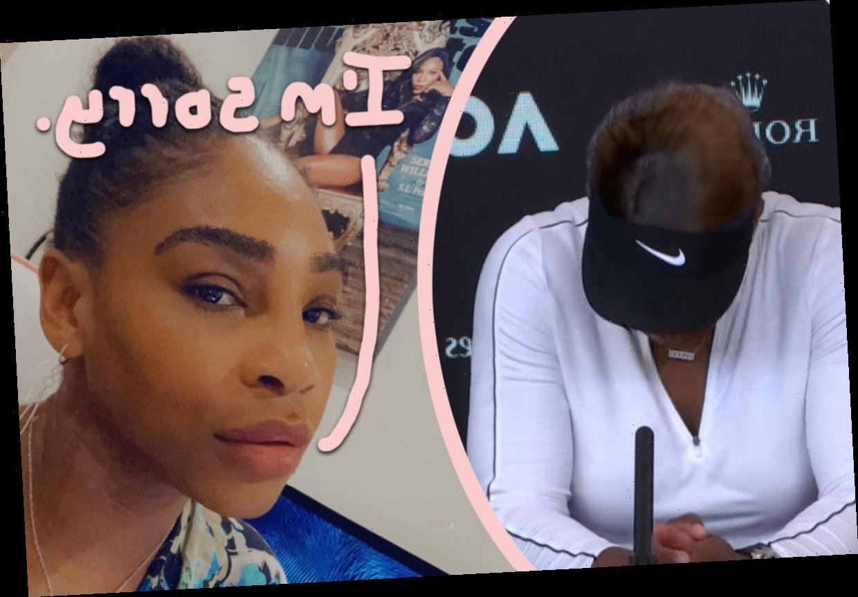 Serena Williams Cries At Press Conference, Writes Heartbroken Letter To Fans