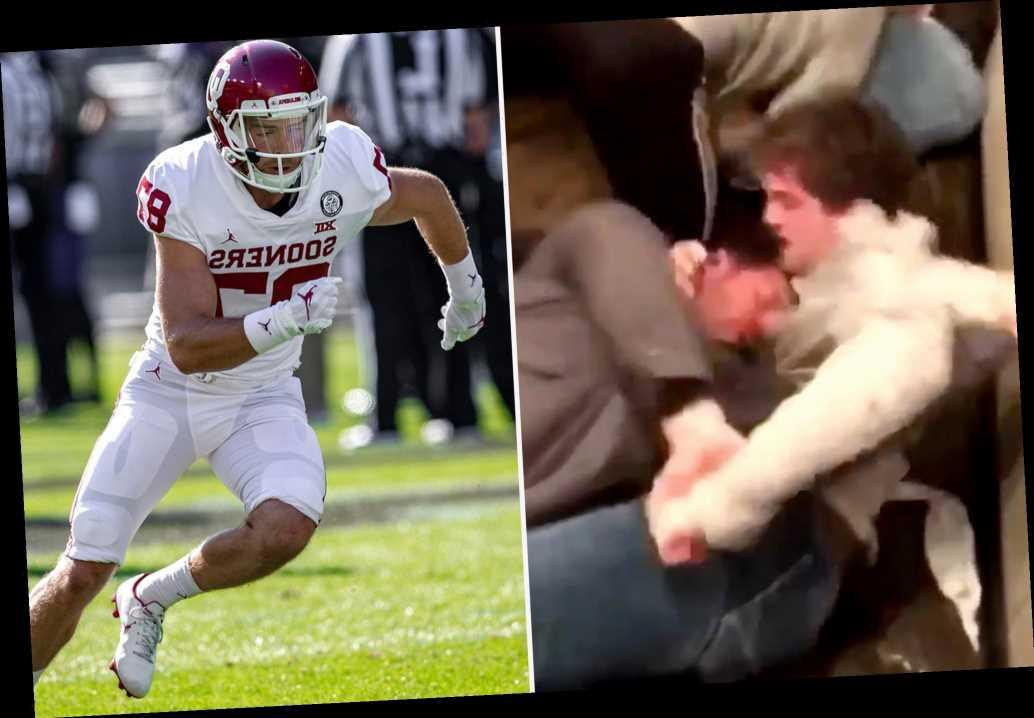 Spencer Jones, Oklahoma receiver, nearly loses eye after bar bathroom beatdown