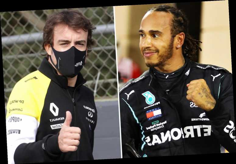 Lewis Hamilton and Alonso to go head-to-head before F1 season begins as Mercedes and Alpine announce same day car launch