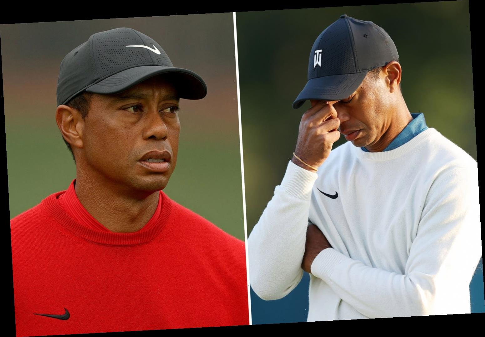 Tiger Woods accident: Star injured in horror California crash & has to be cut out of wreck after car rolls over