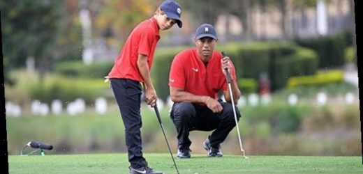 Tiger Woods Gushed About His Kids On Golf Outing With Dwyane Wade 1 Day Before Crash