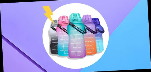 The Giotto Motivational Water Bottle Has Over 7,000 Positive Reviews On Amazon