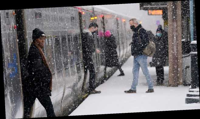 NYC to be hit with wintry mix Monday as warm temperatures approach