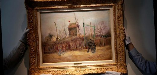 Van Gogh's rarely seen 'Street Scene in Montmartre' painting exhibited ahead of auction
