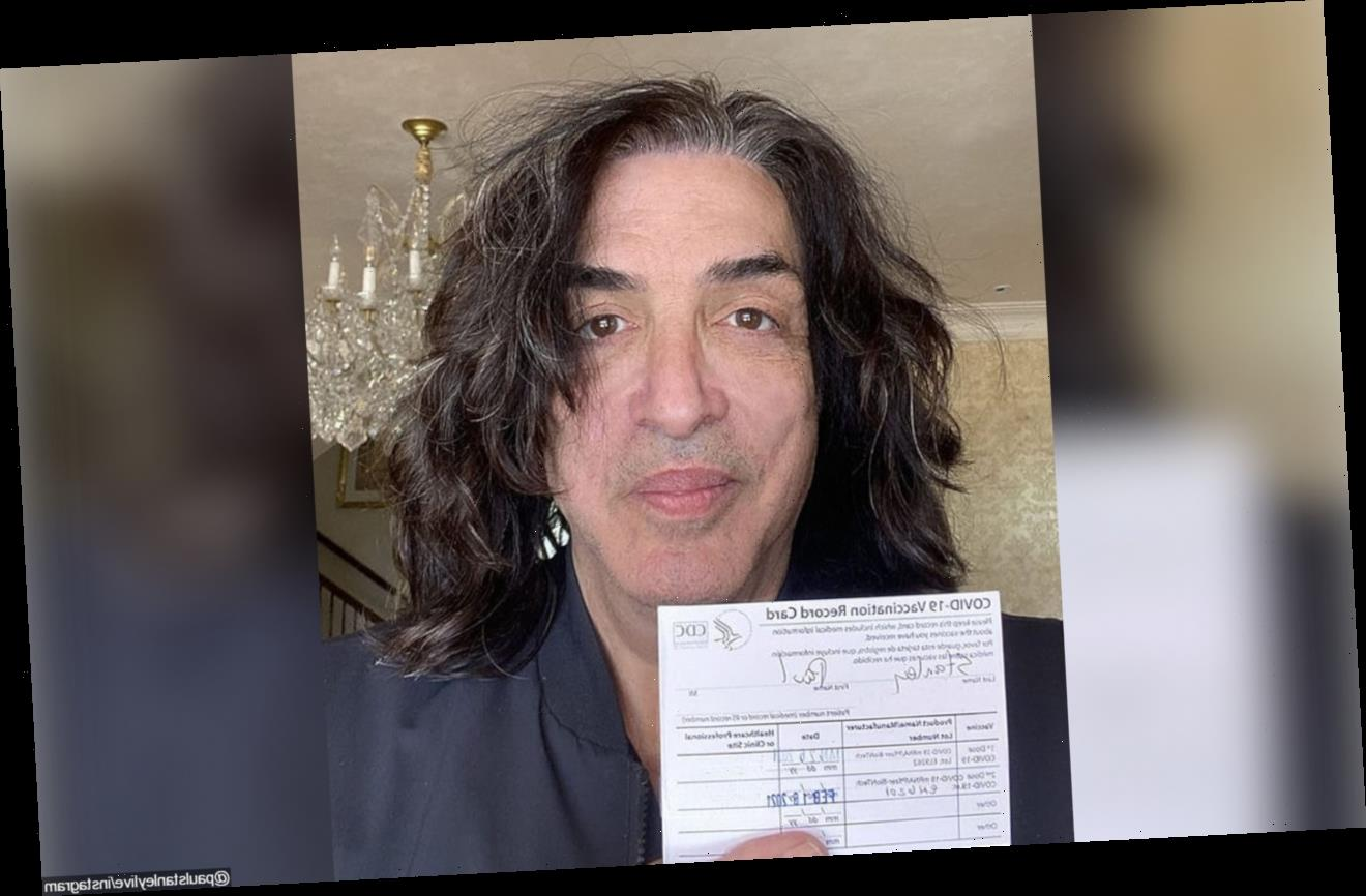 KISS' Paul Stanley 'Grateful' for His Second Dose of COVID-19 Vaccine