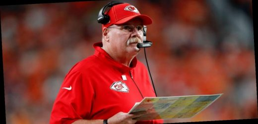 Andy Reid celebrated his first Super Bowl win with 'the biggest cheeseburger you've ever seen' and a night with his 'trophy wife'