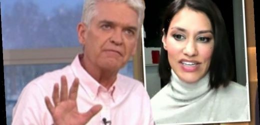 'What are you saying?!' Phillip Schofield probes Meghan's friend 'Why are you here?'