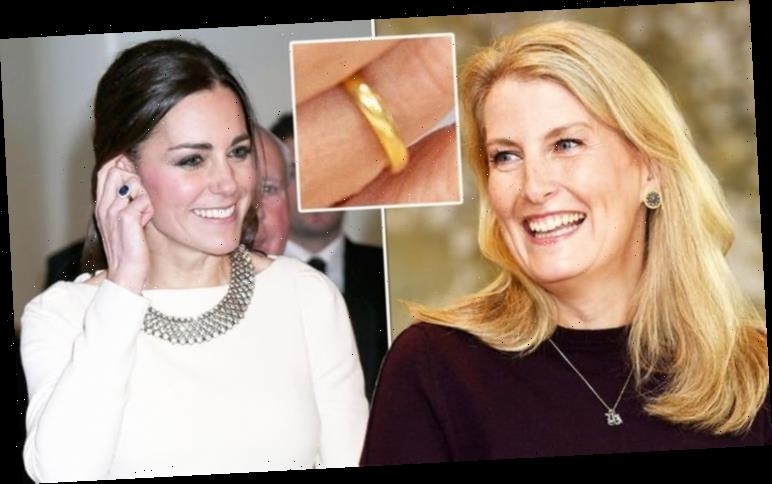 Kate Middleton and Sophie, Countess of Wessex's rare rings 'bind royals in unique way'