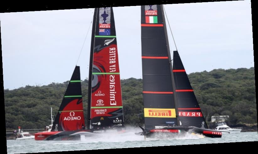 Team New Zealand on brink of America's Cup triumph