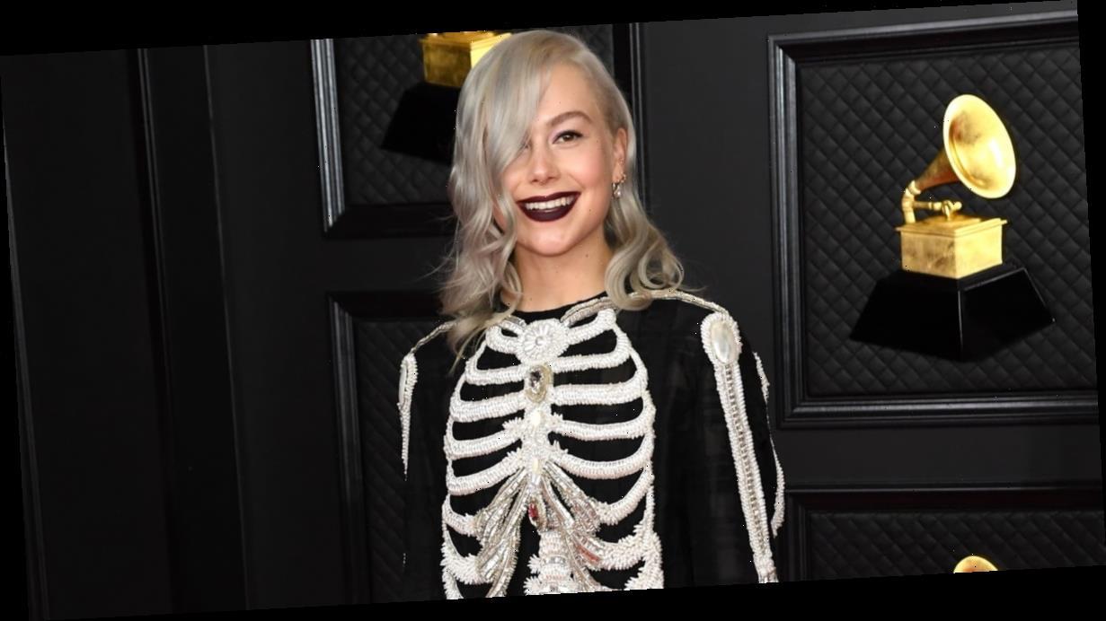 "Phoebe Bridgers Waited ""Years"" Before She Finally Got to Wear Her Dream Skeleton Dress"