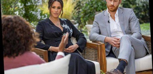 A closer look at Meghan Markle's Oprah interview dress