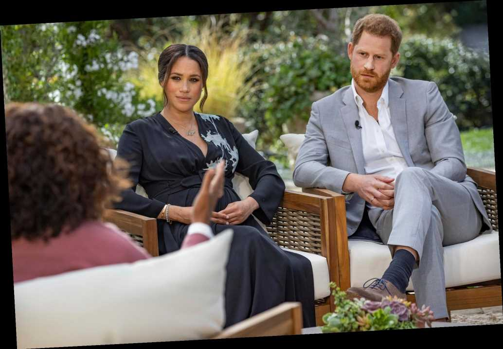 A closer look at Meghan Markle's Oprah interview dress