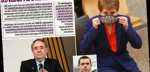DOUGLAS ROSS: The removal van should be called to Bute House