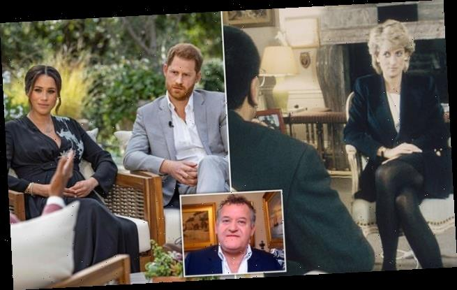 Paul Burrell calls Oprah 'very clever business woman'