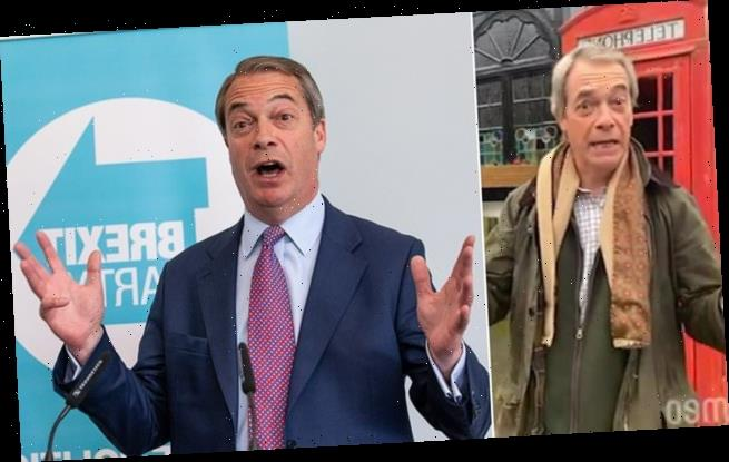 Nigel Farage to wish you happy birthday for £63.75 after joining Cameo