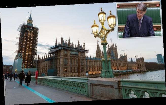 MPs and peers 'must leave Parliament for YEARS' during restoration