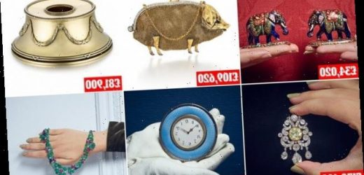 Countess Mountbatten's array of items sells for £5.6mil at auction