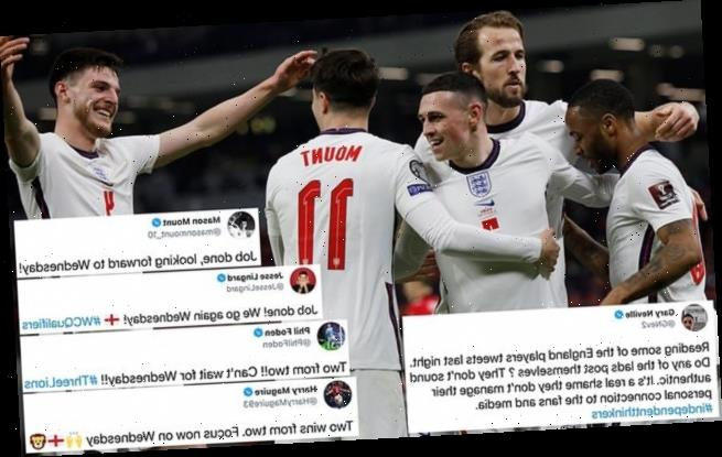 Gary Neville insists England 'don't sound authentic' on social media