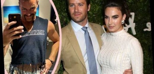 Armie Hammer Accidentally Sent His Wife One Of THOSE Text Messages!
