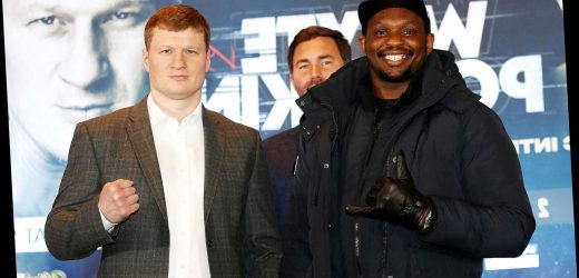 Get Dillian Whyte at boosted 30/1 to win heavyweight rematch against Alexander Povetkin with BetVictor special