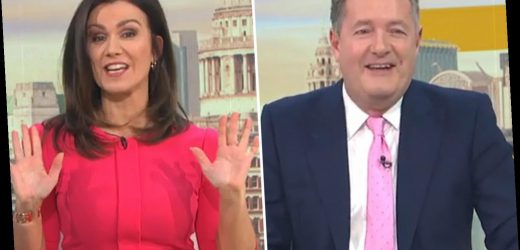 Piers Morgan left amused as GMB viewer tells him to stop 'Samantha' from 'butting in' in Susanna Reid name blunder