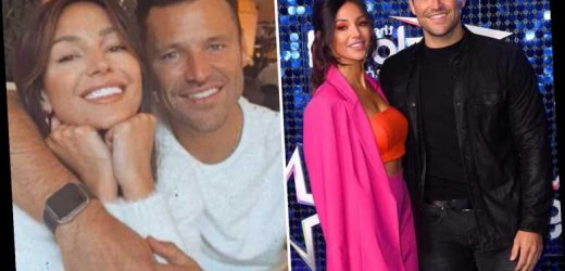 Michelle Keegan denies 'marriage problems' with Mark Wright and says working abroad for a year was a 'good thing'