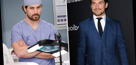 Why did Andrew DeLuca actor Giacomo Gianniotti leave Grey's Anatomy?