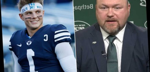 Jets' Joe Douglas can't afford to be wrong about Zach Wilson