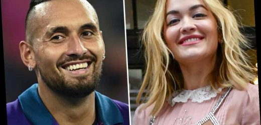 Newly single Rita Ora 'gets DMs from tennis pro Nick Kyrgios' after landing in Australia