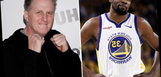 NBA star Kevin Durant apologizes to Michael Rapaport for calling him 'pale pasty b***h' & saying he'd 'spit in his face'