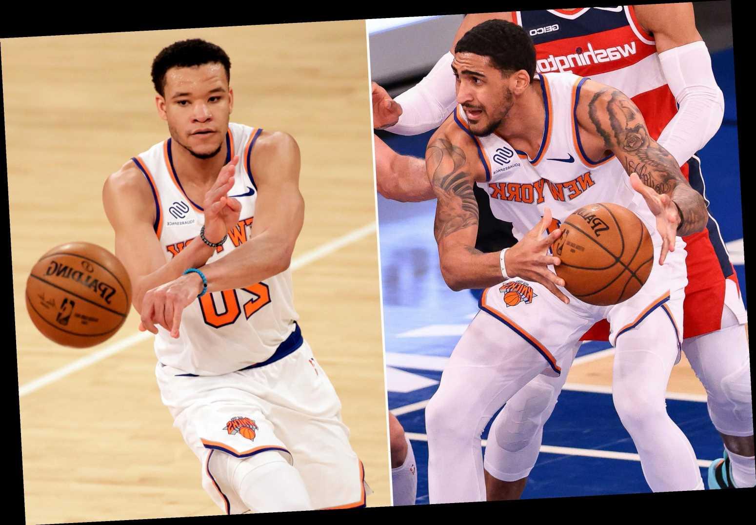 Obi Toppin hits Knicks rock bottom as Kevin Knox looms