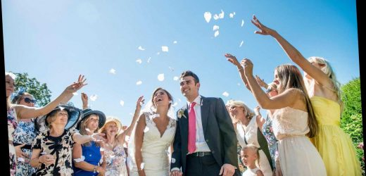 What are the Covid wedding rules in the UK? Weddings back TODAY as lockdown eases